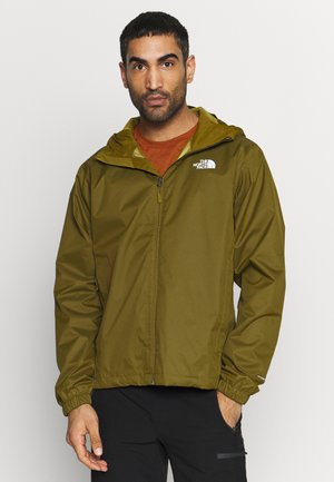 MENS QUEST JACKET - Hardshellová bunda - fir green dark heather