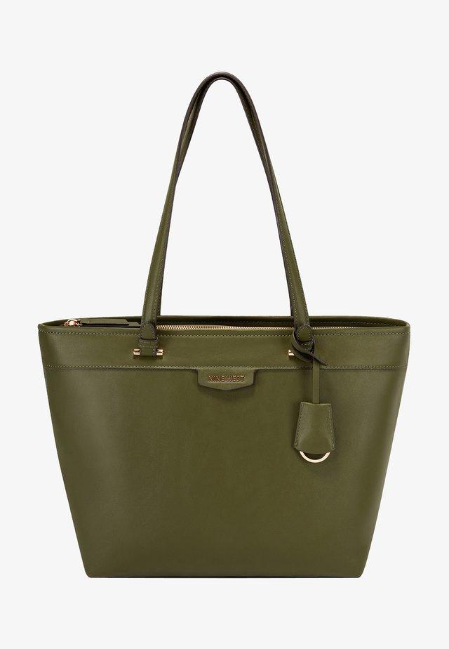 Shopping bag - dark green