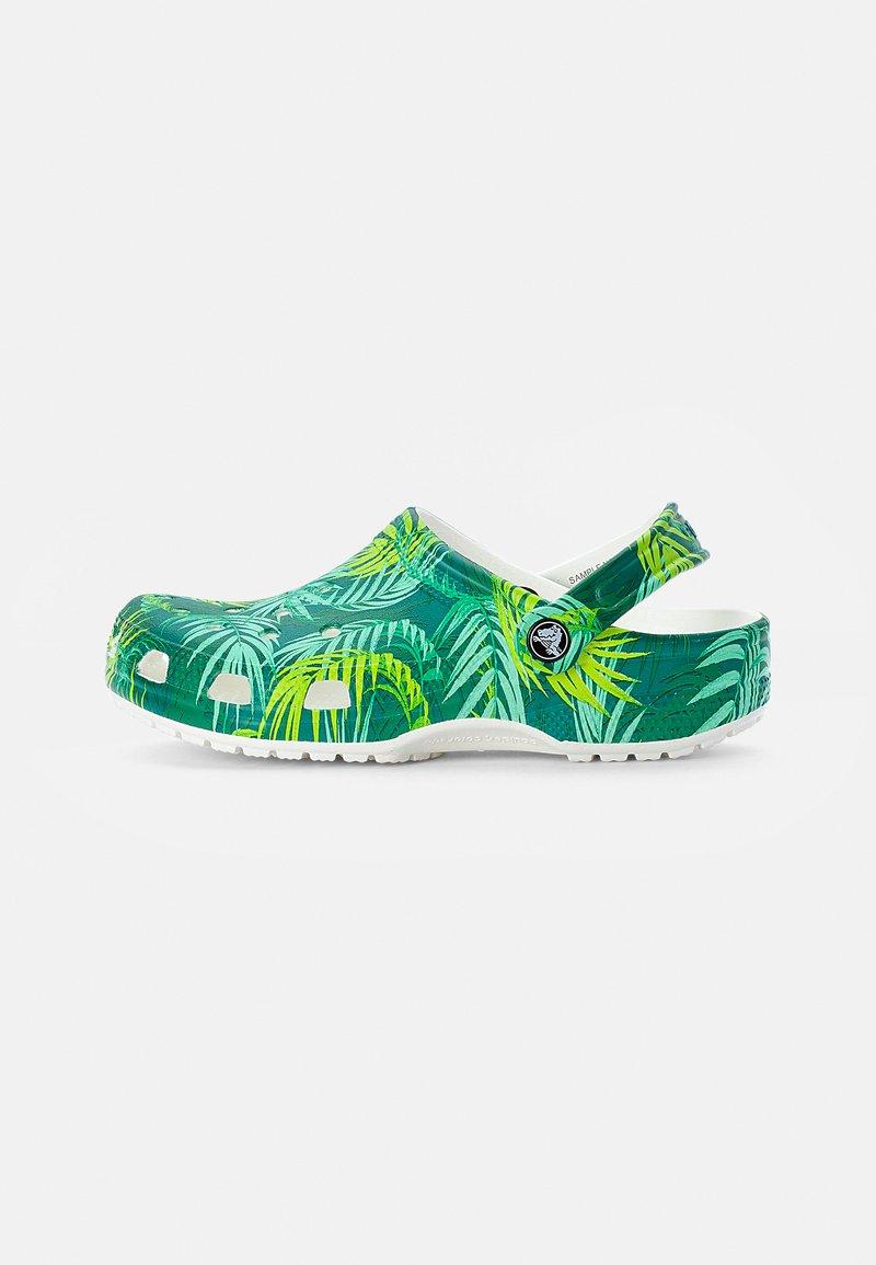Crocs - CLASSIC CLOG - Mules - white/multi