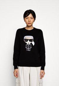 KARL LAGERFELD - IKONIK - Sweatshirt - black - 0
