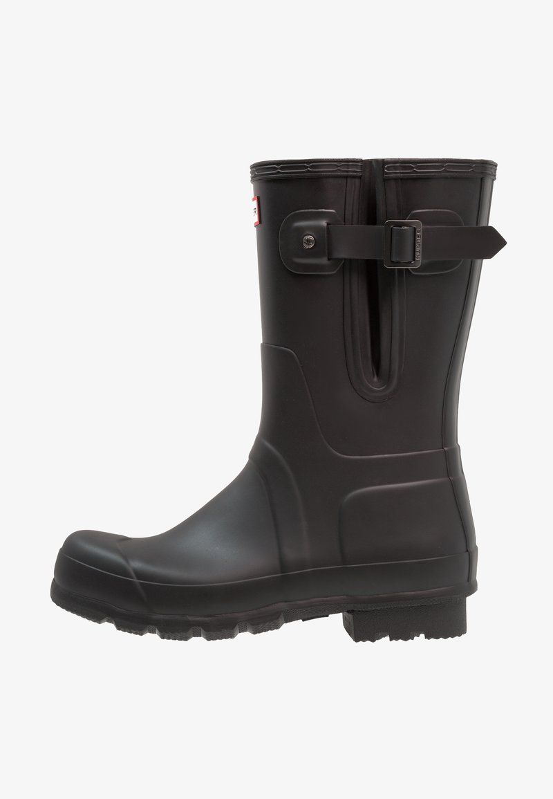 Hunter ORIGINAL - MENS ORIGINAL SIDE ADJUSTABLE SHORT - Wellies - black