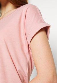 Vila - VIDREAMERS PURE  - Basic T-shirt - pale mauve - 4