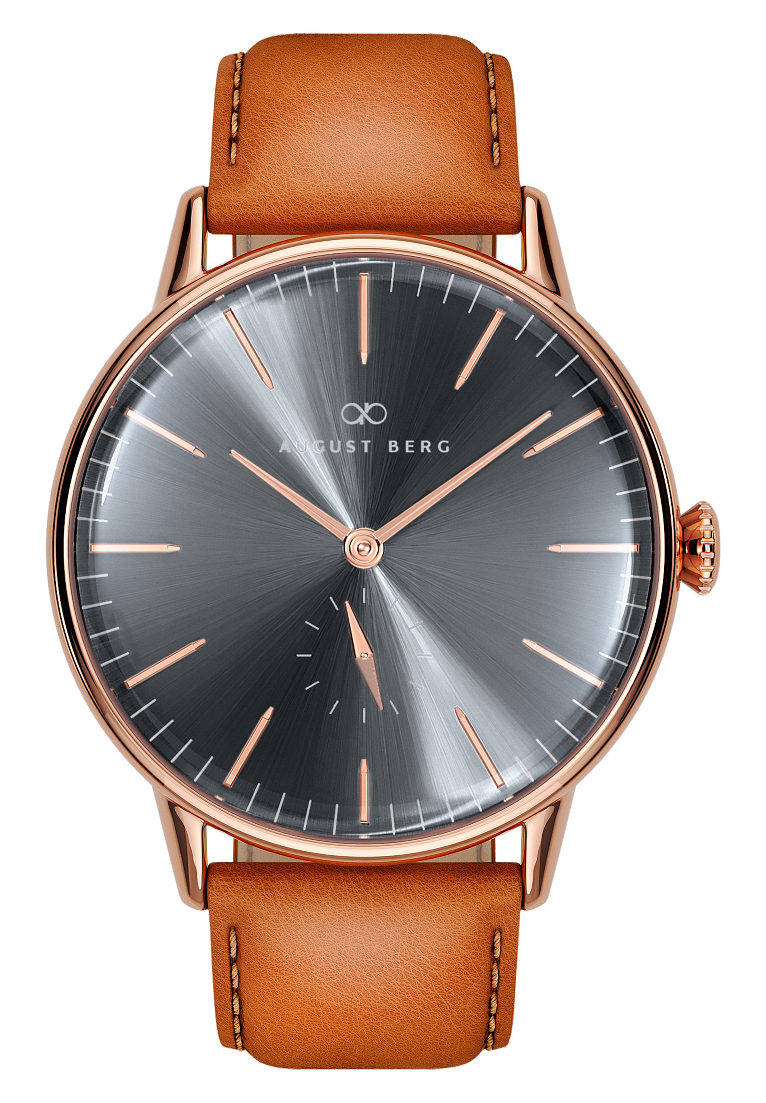 Homme UHR SERENITY ASH & ORCHID EYE LEATHER 40MM - Montre
