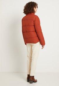 TOM TAILOR DENIM - Zimní bunda - rust orange - 2