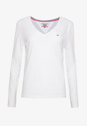 SOFT LONGSLEEVE - Long sleeved top - white