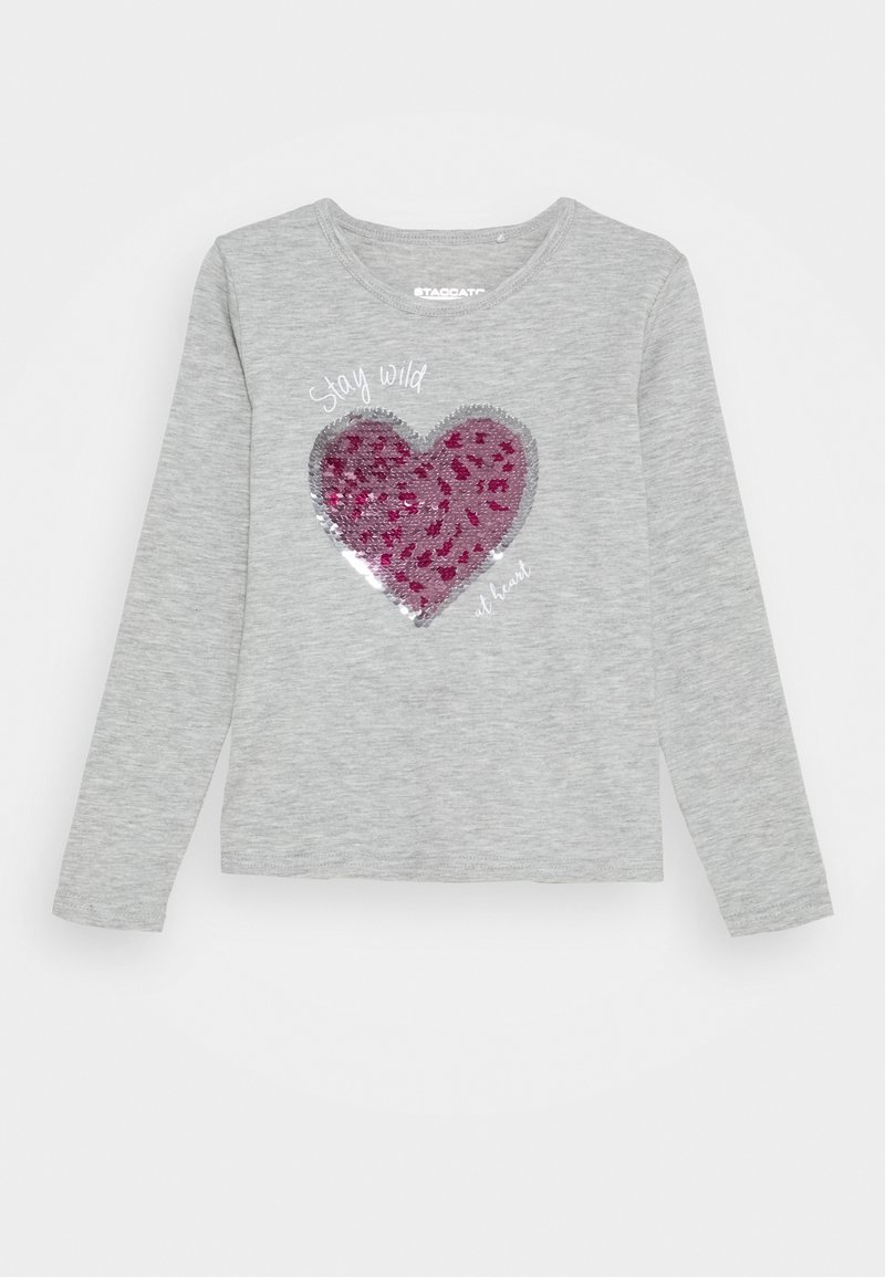 Staccato - Long sleeved top - silver melange