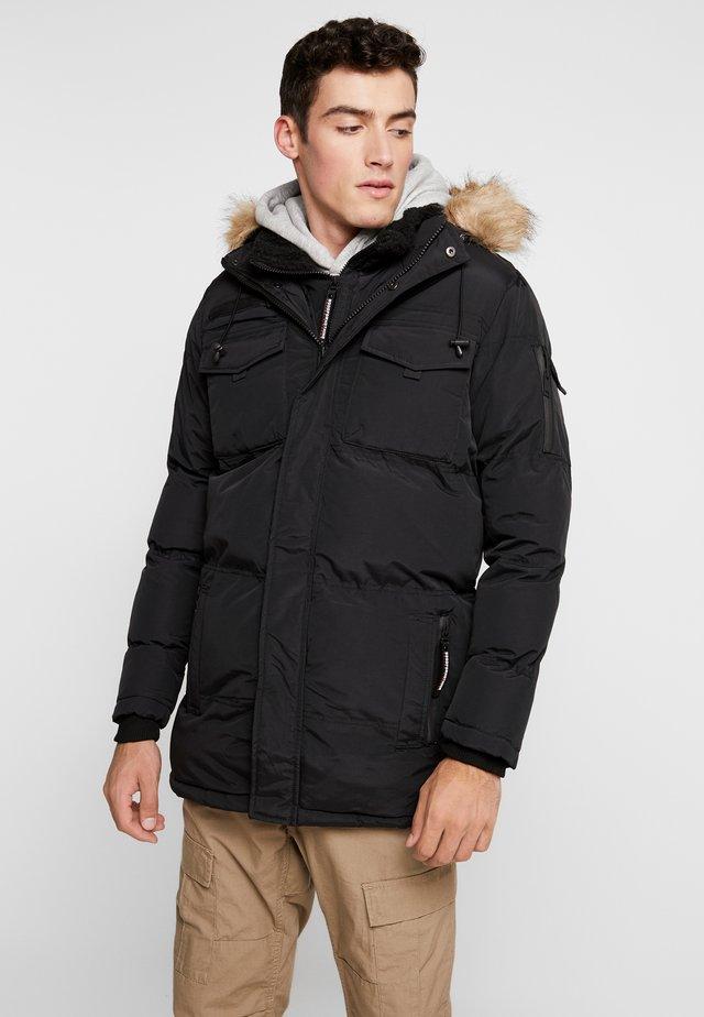 DOUBLE LAYERED ARCTIC - Winter coat - black