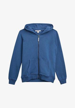 Hoodie met rits - blue