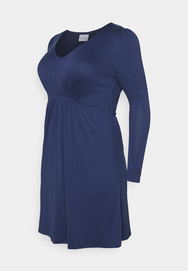 MLANALIA DRESS - Jerseykjole - estate blue