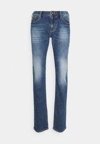 Emporio Armani - 5 POCKETS PANT - Slim fit jeans - blue denim - 4
