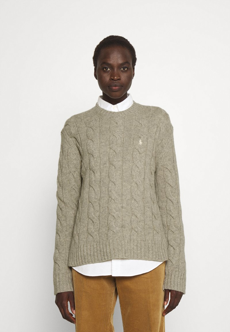 Polo Ralph Lauren - CLASSIC LONG SLEEVE - Maglione - light vintage heather