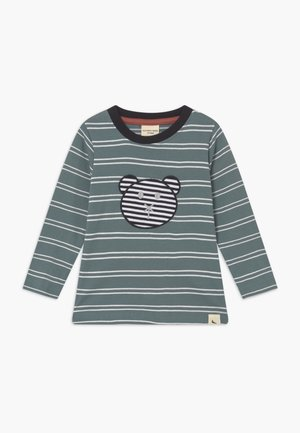 STRIPE APPLIQUE - Langarmshirt - steel