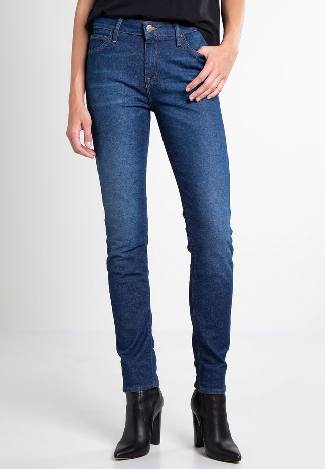 ELLY - Jeans slim fit - dark blue denim