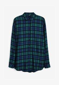 Next - Boyfriend  - Button-down blouse - teal - 1