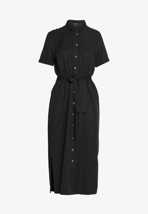 OBJTILDA ISABELLA S/S DRESS NOOS - Skjortekjole - black