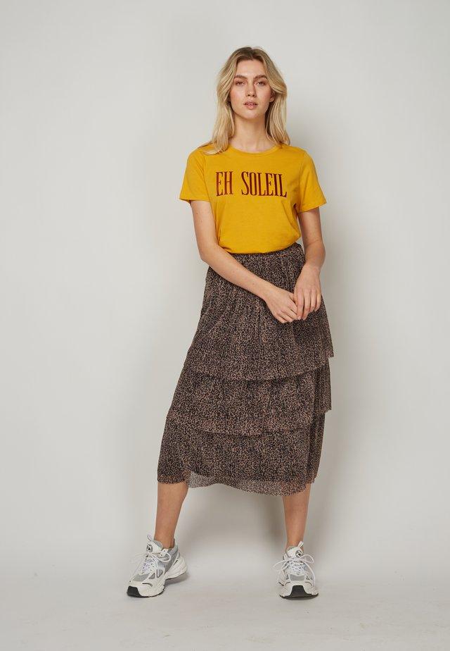 EH SOLEIL - T-shirt print - yellow