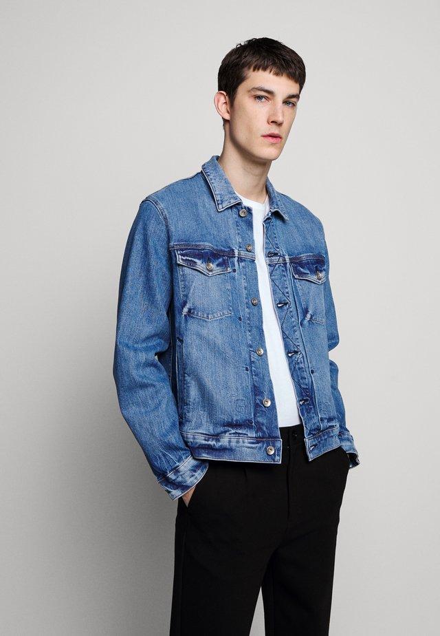DEFINITIVE JACKET - Kurtka jeansowa - blue denim