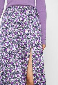 Résumé - CHARLEE SKIRT - Pouzdrová sukně - purple - 3