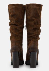 Steven New York - NANSAM - High heeled boots - brown - 3