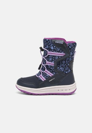 ROBY GIRL - Winter boots - navy/lilac