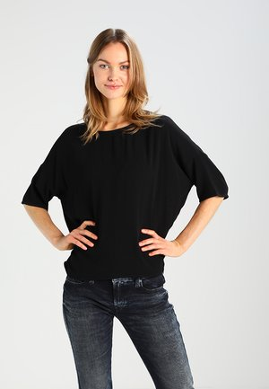 MAINS TEE  - Blouse - black