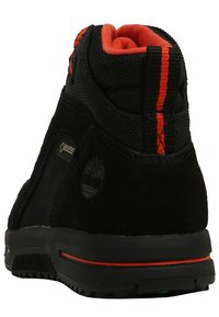 Timberland - CITY STOMP BUNGEE MID GTX - Lace-up ankle boots - jet black - 3