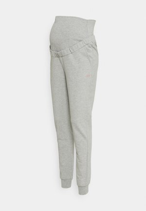 PANT - Tracksuit bottoms - medium grey melange