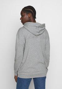 Napapijri - BICCARI - Zip-up hoodie - med grey mel - 2
