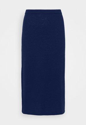 HONOR SKIRT - A-line skirt - marine blu
