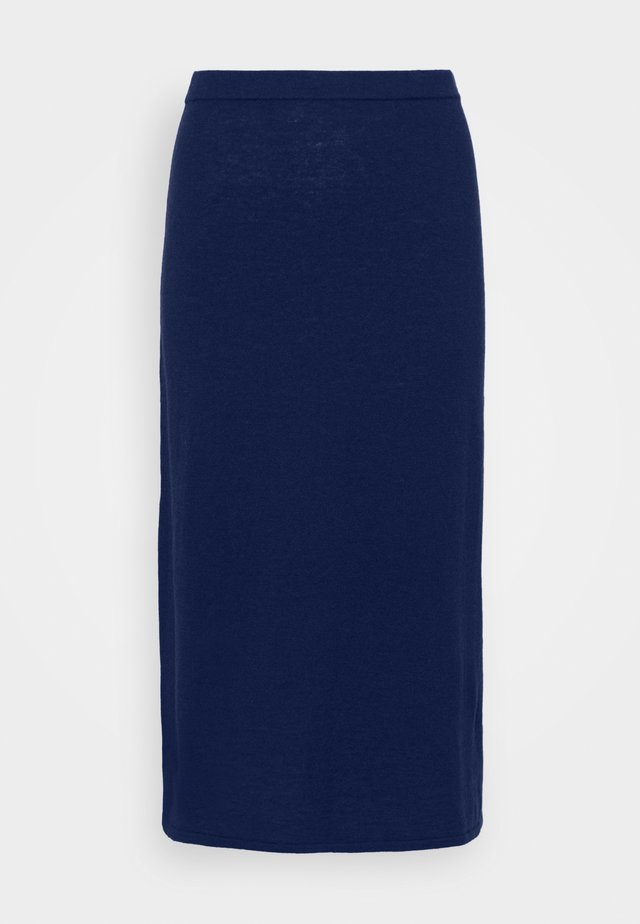 HONOR SKIRT - Áčková sukně - marine blu