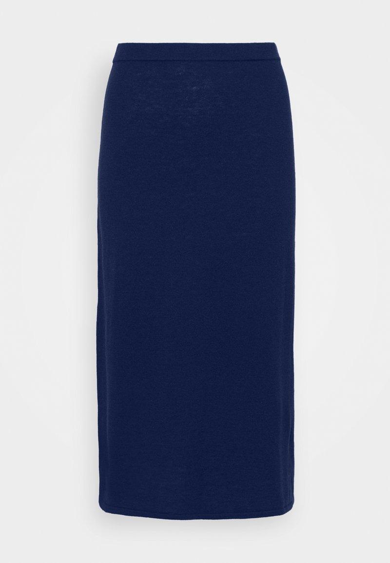 Filippa K - HONOR SKIRT - Pencil skirt - marine blu