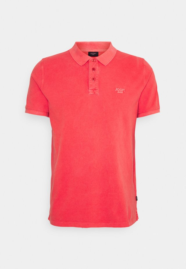 AMBROSIO - Polo - medium red