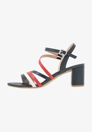 Sandals - ocean/red/white