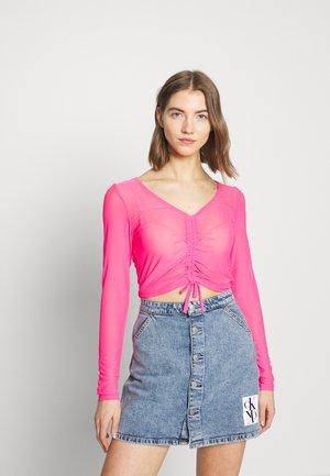 OLLE - Topper langermet - pink