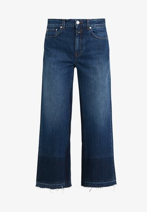GLOW WIDE - Jeansy Straight Leg - mid blue