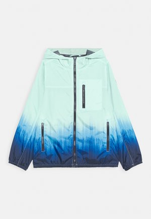 DYE EFFECT UTILITY JACKET - Lehká bunda - ombre blue