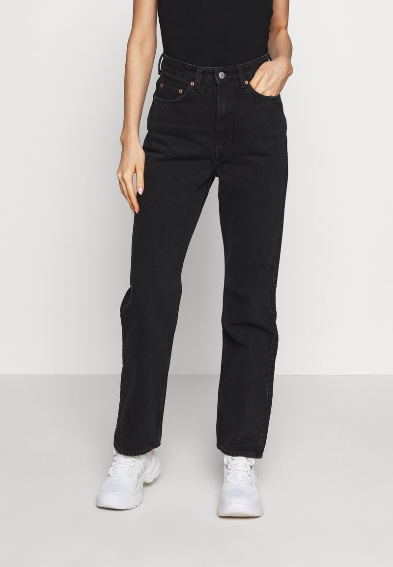 Weekday - ROWE ECHO - Relaxed fit jeans - black
