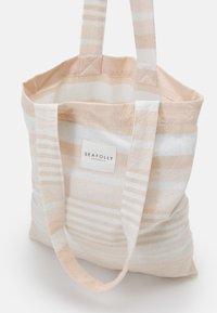 Seafolly - FRINGE BENEFITS TURKISH TOWEL SET - Serviette de plage - pink/sand - 3
