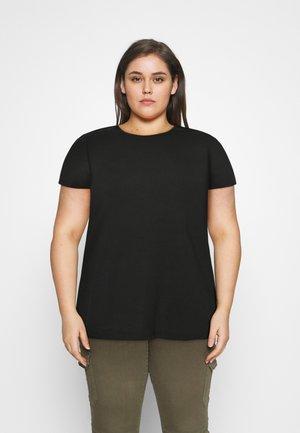 VMAVA  - Basic T-shirt - black