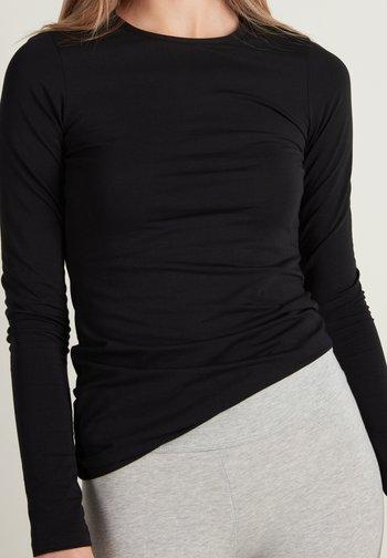 Long sleeved top - nero