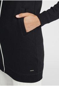 Oxmo - OLINDA - Zip-up hoodie - black - 5