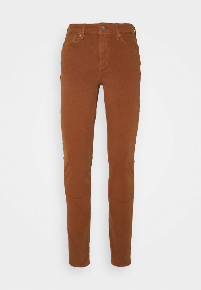 HOSE LANG - Jeans Skinny Fit - brown