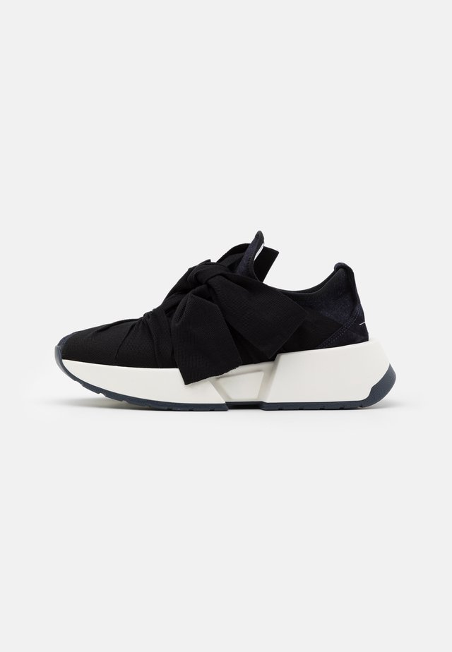 Trainers - dark navy/black