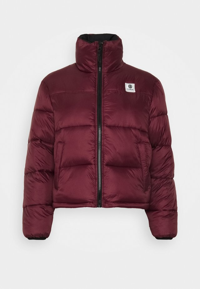 ALDER ARCTIC WOMEN - Winter jacket - vintage red