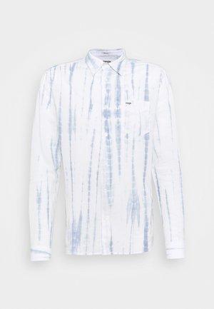 LS 1 PKT SHIRT - Camicia - white