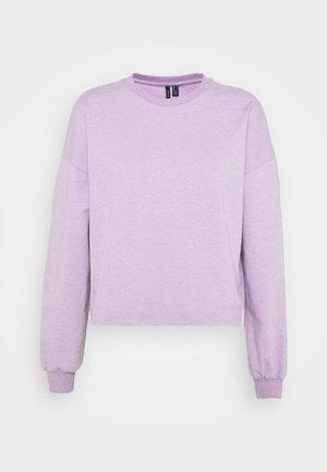 VMCARMEN - Sweatshirt - lavendula melange