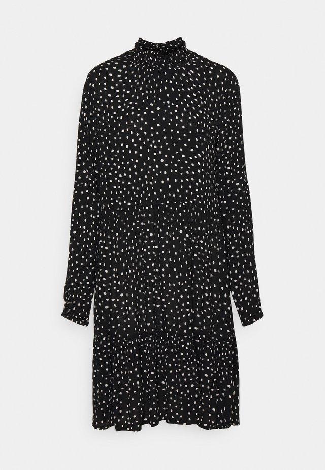 KABILLIE AMBER - Day dress - black/chalk