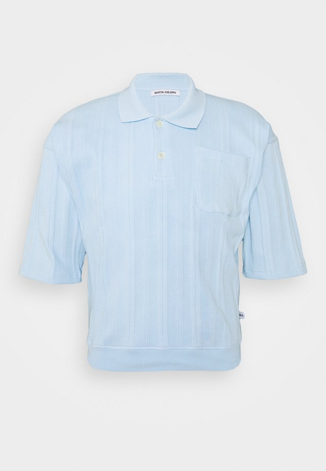 RYAN - Polo - dream blue