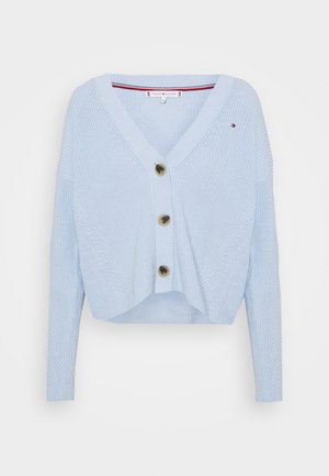 Cardigan - breezy blue