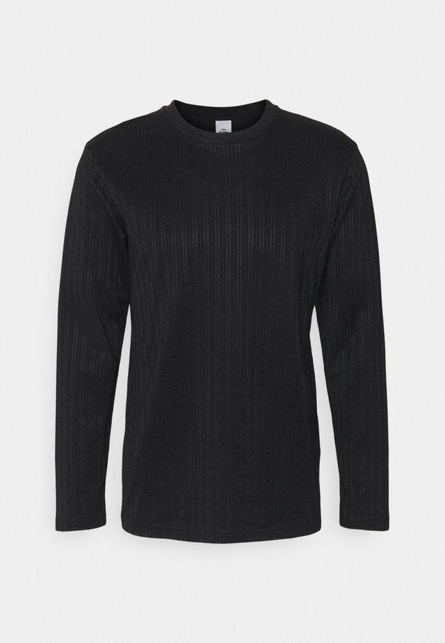 TEDDY - Camiseta de manga larga - black